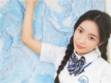 软妹子:来温习一下上节课的重点吧,日系双麻花辫校园美少女纯情写真!